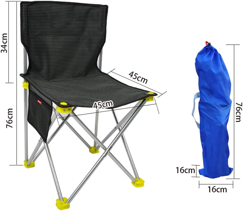 GLJ Outdoor Portable Folding Chair Stool Camping Beach Chair Fishing Fishing Fishing Chair Stool Maza Small Stool Folding Chair (color   10 ) 8e5bee