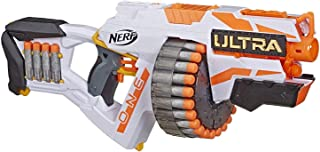 NERF Ultra One Motorized Blaster — 25 Ultra Darts — Farthest Flying Darts..