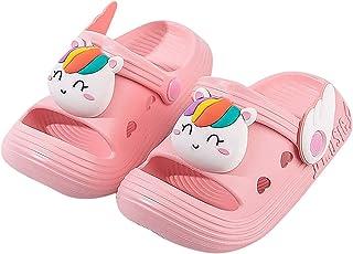 MOMIYA Chaussures Sabots Mixte Enfant Chaussures Mules Bébé Filles Pantoufles Bébé Garçon Tongs de Plage Chaussons Sandale...