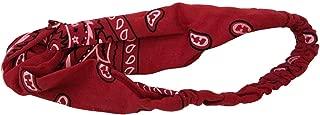 Fashionsweet Bandana Headband with Elastic, Hair Wrap Women's Yoga Outdoor Hairband Headwrap !