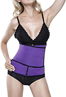 Waist Trainers for Women Waist Cincher Shaper Tummy Control Shapewear Neoprene Suit Tank Top Vest for Weight Loss