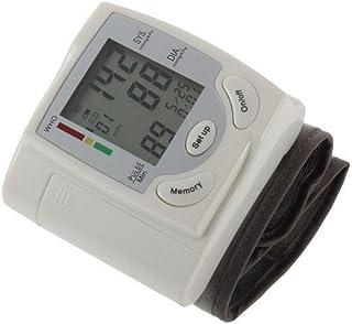 TAO Monitor De Presión Arterial Cuidado De La Salud En La Tercera Edad Memoria Mensajes De Voz Multifunción Baterías Portátiles Para El Hogar Muñeca ABS 2.8 * 2.8 * 0.9in
