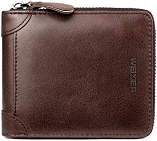 Summer New Leather Hand Men's Wallet, Retro Business Bag Men's Handbag
