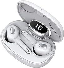 Wireless Earbuds Bluetooh 5.0 Headphones in-Ear TWS Bluetooth Earphones Auto-Pair Noise Reducing Wireless Headphones with ...