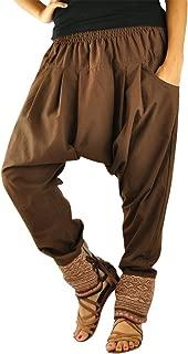 Harem Pantaloni Pump Pantaloni cavallo basso pantaloni pluderhose VINTAGE Goa Yoga Hippie Pantaloni palloncino