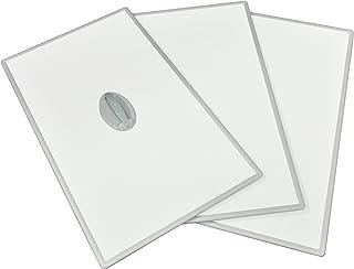 東プレ 風呂ふた 組み合わせ式 取っ手付き センセーション(3枚割) 75×160cm ホワイト/ホワイト L16