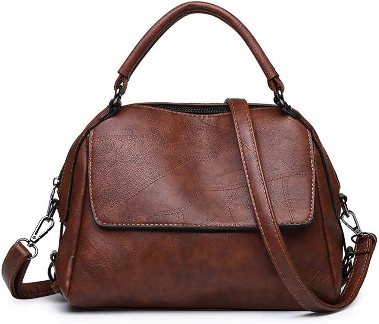 Umhängetaschen luxus - pu - leder frauen handtasche hohe qualität crossbody tasche für frauen faden umhängetaschen rivet umhängetasche tragen B07NSJPCW8  Tragen Sie Ihr Grünrauen