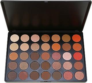SEPROFE Eye Shadow Makeup Palette 35 Color Nature Warm Matte