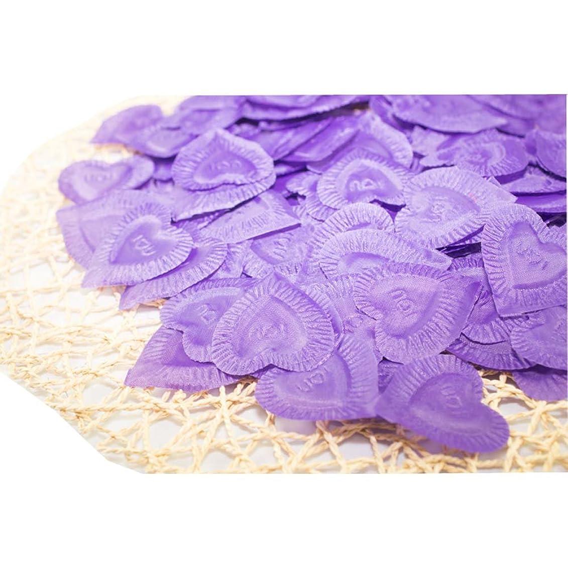 禁じる数字レビュー結婚式のための人工花びら紫840個