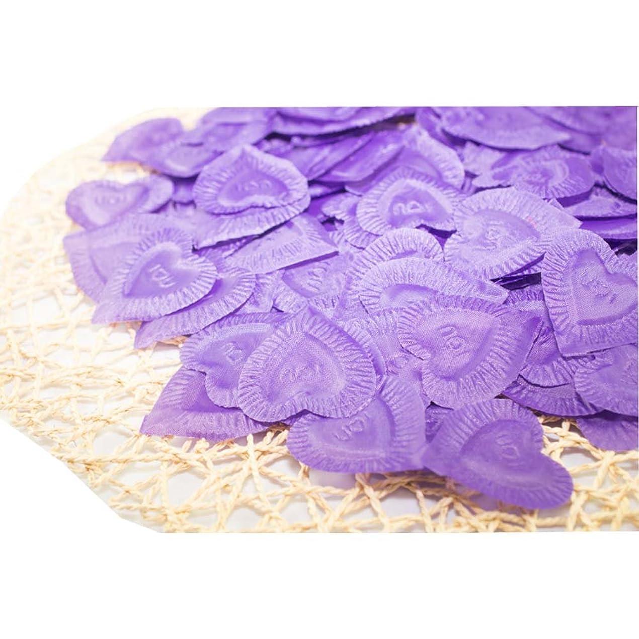 パスタ静けさ数学的な結婚式のための人工花びら紫840個