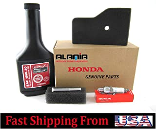 Alamia, Inc. Genuine Honda EU2000i Generator, Maintenance Tune Up Kit, Filters, Oil, Spark Plug, fuel filter, Fits Honda EU2000I, EU2000 Companion and EU2000 Camo.