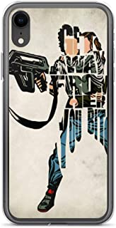 iPhone 7 Plus/8 Plus Case Anti-Scratch Motion Picture Transparent Cases Cover Ellen Ripley Typographic & Minimalist Illustration Movies Video Film Crystal Clear