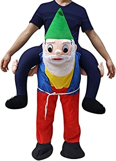Funny Piggyback, Ride-On Shoulder, Carry Me Costume for Adults, One Size
