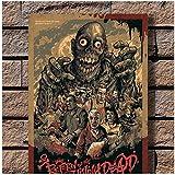 Rückkehr der lebenden Toten Classic Horror Movie Art Poster Leinwand Gemälde Home Decor Poster und Drucke Druck auf Leinwand -50x70cm-No Frame