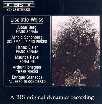 Berg / Eisler / Schoenberg / Ravel: Early Piano Music