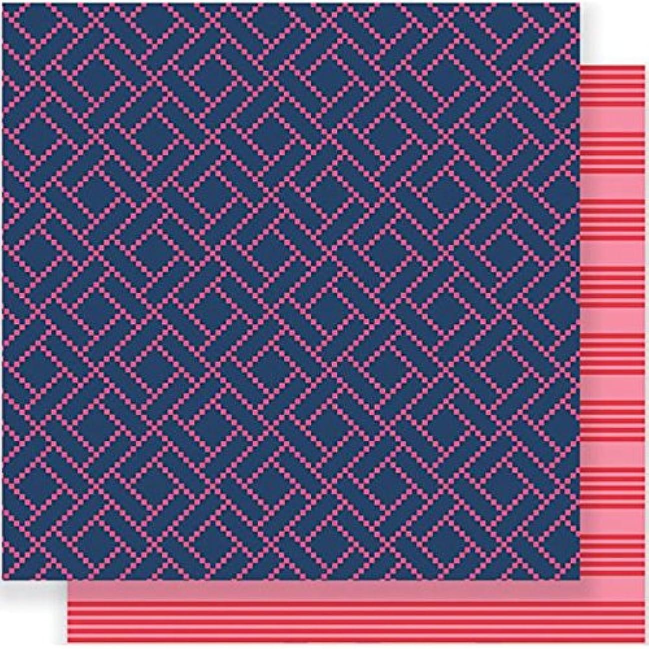 American Crafts 733060 25 Sheet Interlocked Jen Hadfield Everyday Double-Sided Cardstock, 12