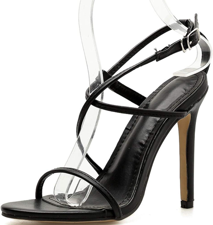 Shiney Women's High Heels Sandals Ladies Stiletto Heels Fashion shoes
