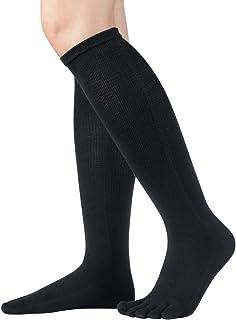 Knitido, Essentials   Medias con dedos en algodón por debajo de la rodilla