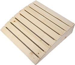 Oreiller en bois, de haute qualité pratique appui-tête confortable oreiller de pièce de sauna en bois Sauna Fournitures Ac...