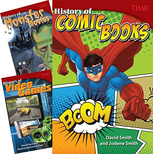 TIME®: History of Cool Stuff: 3-Book Set (TIME FOR KIDS® Nonfiction Readers)