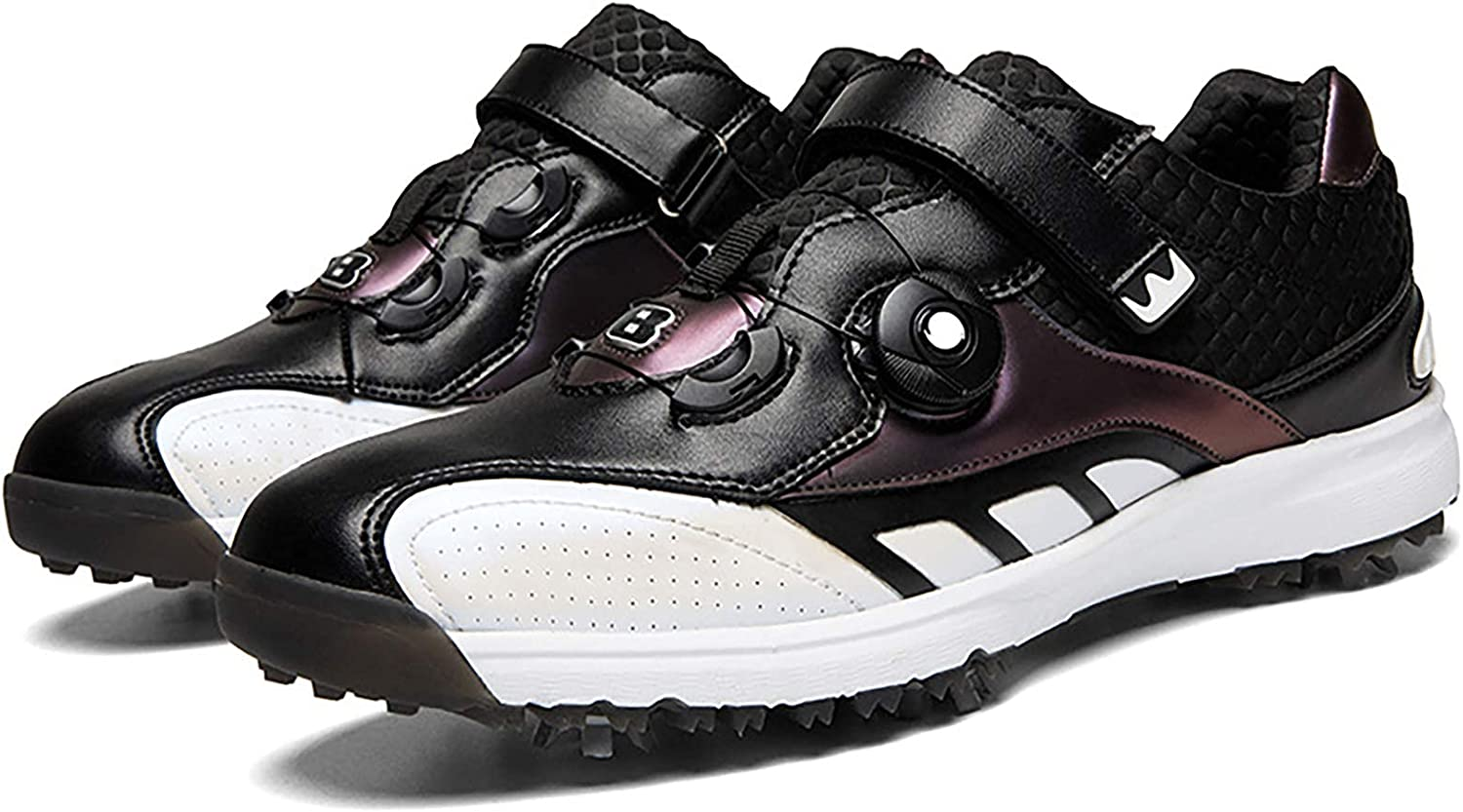 AIAIⓇ Men's Waterproof Golf Sale Fixed price for sale special price Shoes - Removable Spikes Water