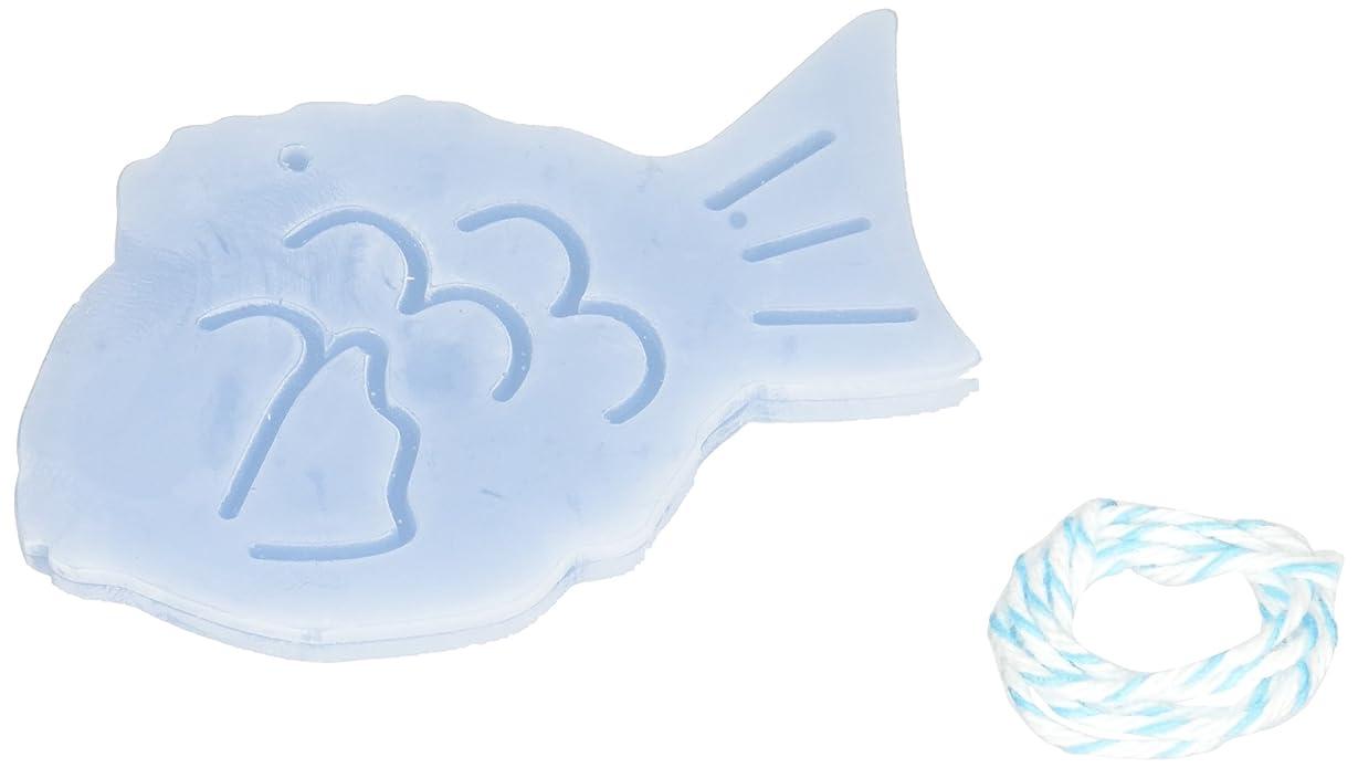 補体無しベルトGRASSE TOKYO AROMATICWAXチャーム「鯛」(BL) ローズマリー アロマティックワックス グラーストウキョウ