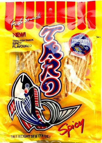 Taro Fischsnack,  scharfer Chiligeschmack (Spicy) 52g