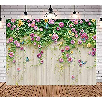 New Photography Background Texture 7x5ft Colorful Artificial Flower Tree Newborn Photo Backdrop Purple Lavender Floor Month Baby Pictures Photoshoot Studio Backgrounds for Photographer