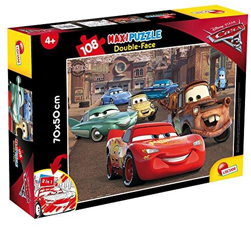 Lisciani Giochi- Cars 3 Racer Puzzle DF Supermaxi, 108 Pezzi, Multicolore, 63963.0