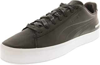 Mens X Black Scale Court Platform Casual Sneakers,