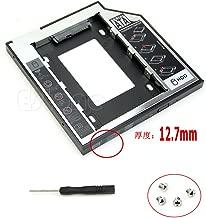 RingBuu 12.7mm SATA 2nd HDD SSD Universal Hard Drive Caddy for CD DVD-ROM Optical Bay
