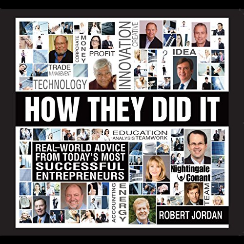 How They Did It audiobook cover art