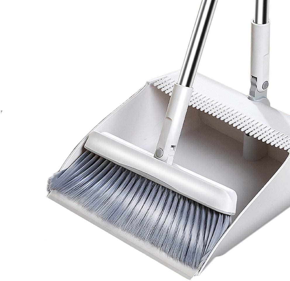 NLIAN- Broom and Dustpan Set Ranking Japan's largest assortment TOP20 Handle Com with Long