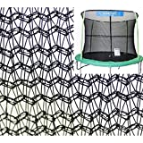 JumpKing 14' Enclosure Net for 4 Poles for 7' Springs with JK Logo