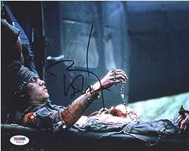 Johnny Depp Platoon Signed 8x10 Photo Certified Authentic PSA/DNA COA