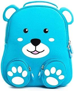 Cartoon 3D Hedgehog Kindergarten Zoo Animal Little Kids Small School Bag Light Lion Backpack 3 Zhaozb (Color : Bear)