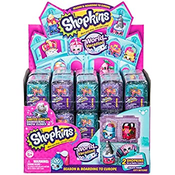 Shopkins Series 8 World Vacation Europe 2 Pac | Shopkin.Toys - Image 1