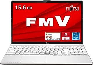 【公式】富士通 ノートパソコン FMV LIFEBOOK(MS Office 2019/Win10/15.6型/Celeron/4GB/SSD 256GB/DVD)AHシリーズ FMVA42F1W2【Windows 11 無料アップグレード対応】