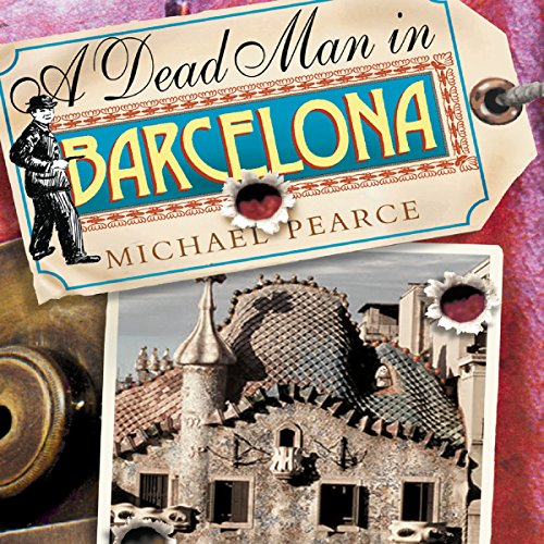 A Dead Man in Barcelona  audiobook cover art