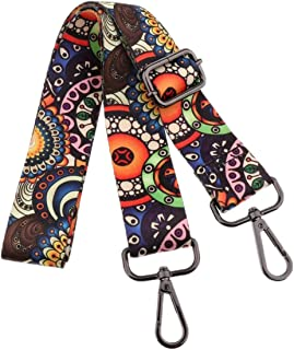 Adjustable Handbag Strap Purse Strap Replacement Guitar Style Canvas Crossbody Shoulder Bag Strap for Handbags - #7