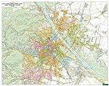 Wien Wandplan, 1:15.000, Poster - Freytag-Berndt und Artaria KG