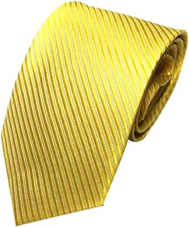 UJUNAOR Men's Halterneck Striped Necktie