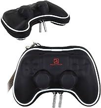 Pandaren® Caso duro bolsa de transporte airform para el Mando PS4 (negro)
