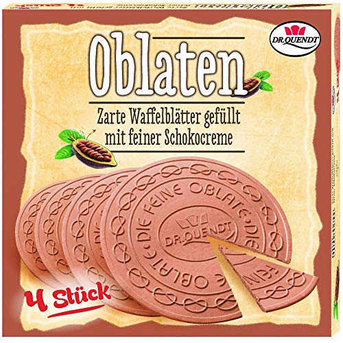 Oblaten Dresdner mit Schoko Creme 150g