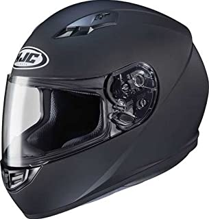 HJC Solid Adult CS-R3 Street Motorcycle Helmet - Matte Black/X-Large