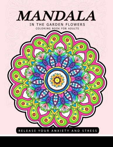 Download Mandala in the Garden Flowers 1548180343