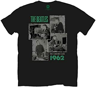 BEATLES ビートルズ (来日55周年記念) - CAVERN SHOTS 1962 / Tシャツ/メンズ 【公式/オフィシャル】