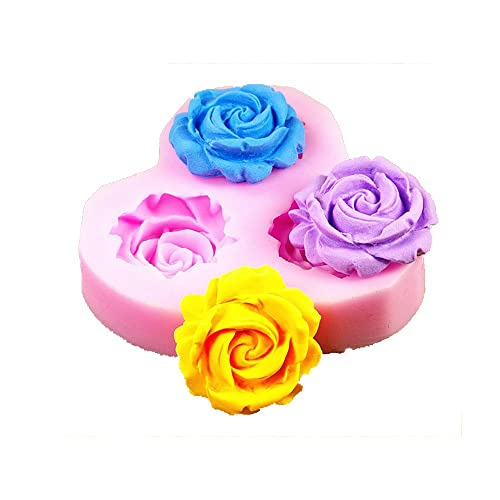 Longzang F0130 DIY Cake Decorating Fondant Silicone Sugar Craft Mold, Mini