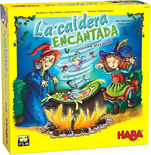 HABA 305219 - La Caldera encantada, Juego Infantil de Memoria. Más 5 años