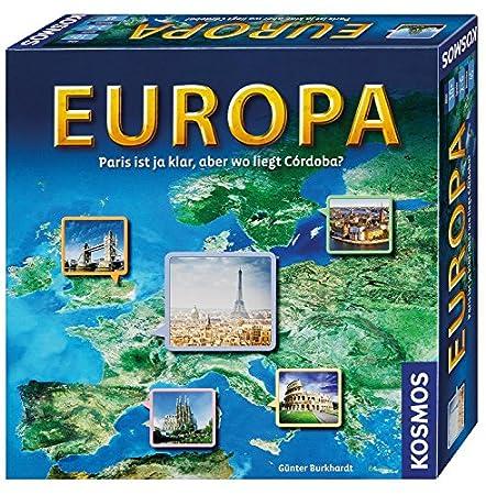 KOSMOS Europa, Geografie-Spiel